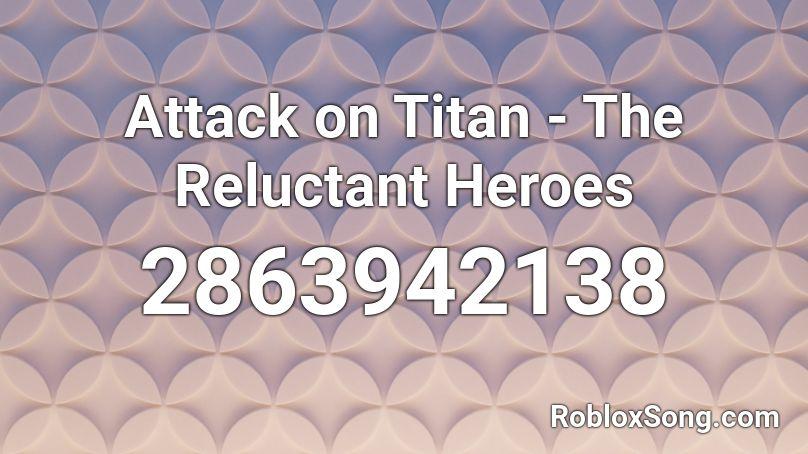 attack on titan roblox id