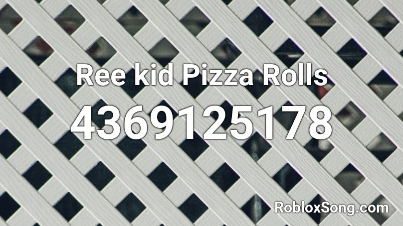roblox pizza time id