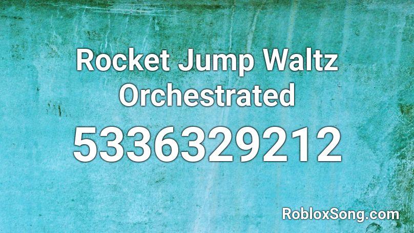 rocket jump waltz roblox id