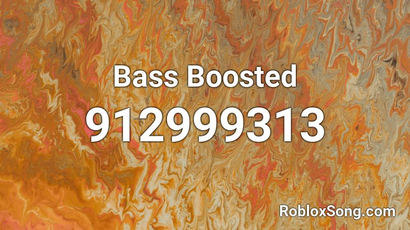 extreme bass roblox id
