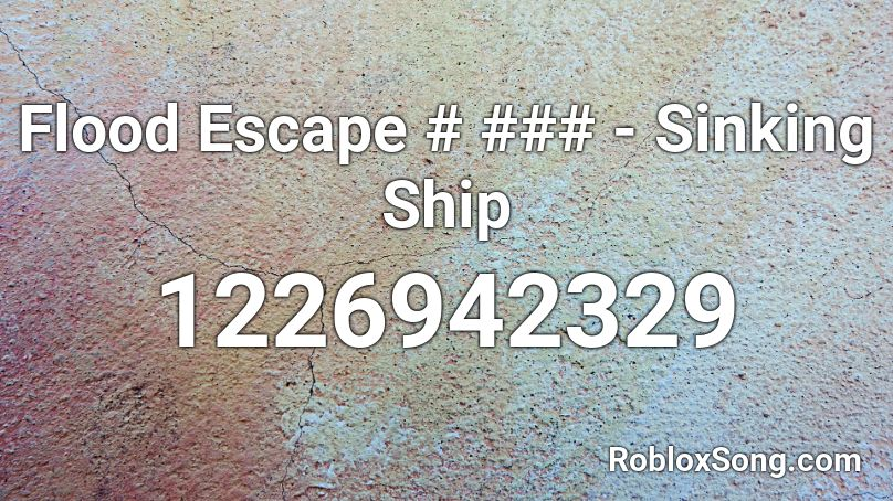 sinking ship roblox codes