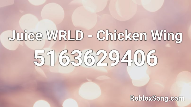 chicken song roblox id