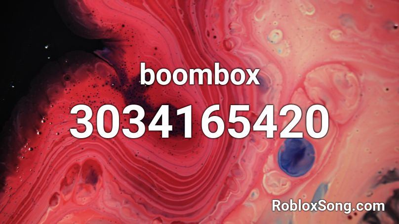 Boombox Roblox Id Roblox Music Codes