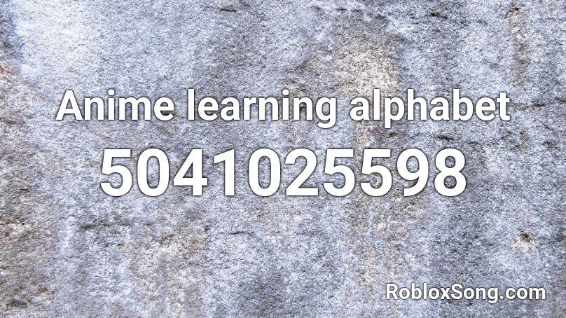 alphabet boy roblox id