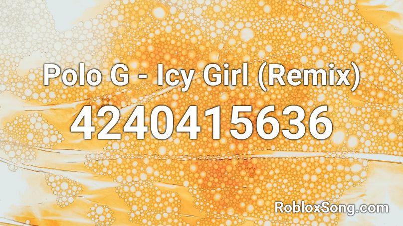 icy girl roblox id