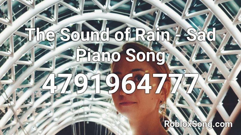 sad piano roblox id